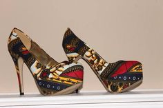N'omose Pump shoes - by N'omose Couture on Afrikrea, $65.00