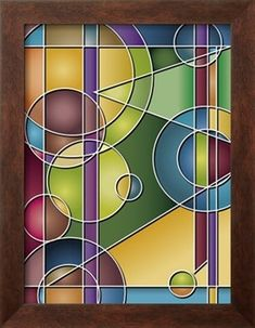 What if you were to do something in this style in stained  glass. #Vitrales
