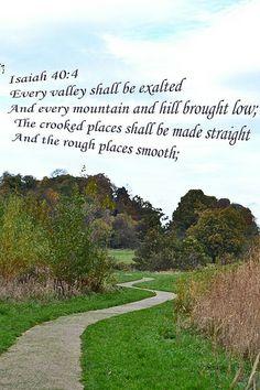 Isaiah 40:4 | Flickr - Photo Sharing!