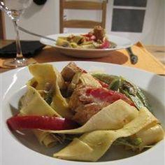 Cajun Chicken and Capsicum Pasta @ http://allrecipes.com.au