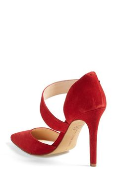 Vince Camuto. We sell hear at my store in pink!!! Need to have, if I don't beat you to it lol