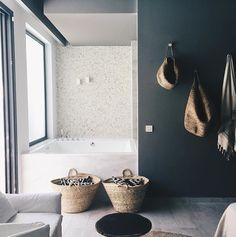 Fine skittentøy kurver for sort og hvit vask:-)