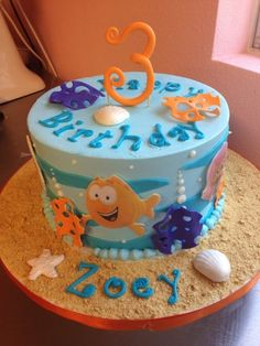 Bubble Guppies – love the style of the 3