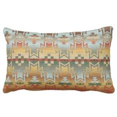 """Title : 203 Tribal, Native American, Brown Beige Blue Prin Lumbar Pillow  Description : Words to describe Tribal; """"Native-American's, Indian, Tribes, """"Tribal-Prints"""", """"Geometric-Patterns"""", """"Miscellaneous-Shapes"""", Diamonds, Squares, Arrows, """"Repetitive-Patterns"""", """"Fabric-Weaving"""", Tapestry, Beads, """"Animal-Bones"""", """"Ethnic-Tribes"""", Cultural, Cultures, """"Southwest-Patterns"""", """"Animal-Pattern-Prints"""", """"Ethnic-Prints"""", Ganado, """"Native-Traditional-Patterns"""", Ikat, """"Navajo-Art"""", Weaving…"""