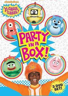 Yo Gabba Gabba! Party in a Box ~ BRAND NEW 3-DISC DVD SET