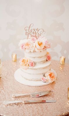 A huge SHOUT OUT to our beautiful customer Amanda W. from Staten Island, New York for sending us this photo! It's so lovely!  Cake Topper: PS Weddings And Events Baker: Bell Mer in Newport, RI (Also the venue) Florist:  Golden Gate Florist (Rhode Island) Photographer: Faith Dugan Photography  #weddingday #alwaysandforever #loveyoumore #pursuepretty #brideandgroom #persuewhatislovely #wedding #lovelove #weddingphoto #cake #weddingideas #weddinginspo #rosegold #ohwowyes #thatsdarling #winning…