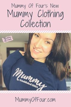 Introducing the new range of Mummy- Wear essentials from Mummy Of Four Well, I did it, I went and designed some Mummy stuff that I . Mom Hacks, Baby Hacks, Baby Tips, Life Hacks, New Mummy, Baby Massage, Gifts For Mum, Parenting Hacks, Breastfeeding
