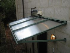 Polycarbonate Canopy Outdoor Rain Shelter Entrance Plastic Rain Door Cover