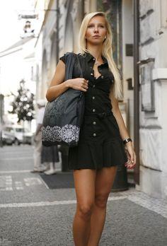 Black & White 1 - ECOZZ original reusable bag #ecozz