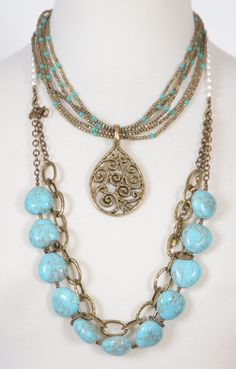 LOVE turquoise? Premier designs jewelry Facebook: Premier Designs Jewelry Lady - Amy Cobb / doyoulovejewelry@cox.net
