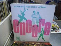 Statler Records Presents Encore Vinyl LP EX Breaks Beats Funks Disco Drum Soul Rare Vinyl Records, Scotch Tape, Lp, Drums, Beats, Im Not Perfect, Presents, How To Apply, Music