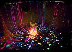 glow sticks <3