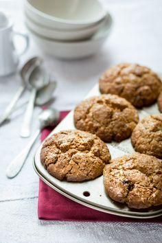 Muffin Integrali con Rum e Uvetta - Ricetta - Ecor