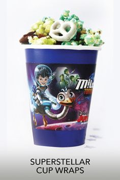 Cup Wrappers | Miles from Tomorrowland Free Printables & crafts | SKGaleana