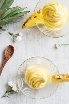 Pineapple Whip is a delicious frozen treat that is actually healthy and super easy to make. Some say it tastes just like Disneyland's pineapple whip, only this is clean eating and paleo friendly.
