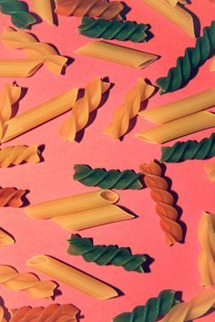 Tri colori pasta and penne! My favorites! Food Patterns, Shape Patterns, Textures Patterns, Print Patterns, Surface Design, Still Life Photography, Art Photography, Pasta Art, Fractal