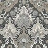 Inspired by the opulence of Persian carpets, this elegant wallpaper design has been named after the Russian playwright and poet Alexander Pushkin. The wallpaper features classic oriental motifs, creating a bold and bohemian look in your home. Shown here in the charcoal colourway. Other colourways are available. Please request a sample for a true colour match. Wide width product. Pattern repeat is 38cm, not as stated below.
