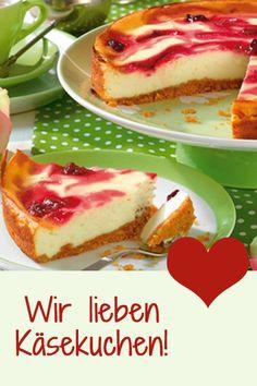Raffinierte Rezeptideen für Käsekuchen - unvergleichlich gut! http://www.bildderfrau.de/backschule/raffinierte-kaesekuchen-d58264.html #Käsekuchen #cheesecake