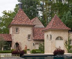 Clay Tile Roofing manufactured by Ludowici Tile. Photo Credit Ludowici Tile