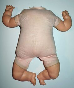 """Original 1960s Vogue 18"""" BABY DEAR by Eloise Wilkins Doll Body Parts or Repair in Dolls & Bears, Dolls, By Brand, Company, Character 