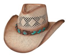 Bullhide Terri Clark Collection You Are Easy On The Eyes Straw Hat 3e1818d9d9d2