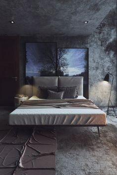 homedesigning:  (via 8 Striking Bedrooms With Distinct Personalities)