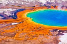 Grand Prismatic Spring, Yellowstone National Park, U.S