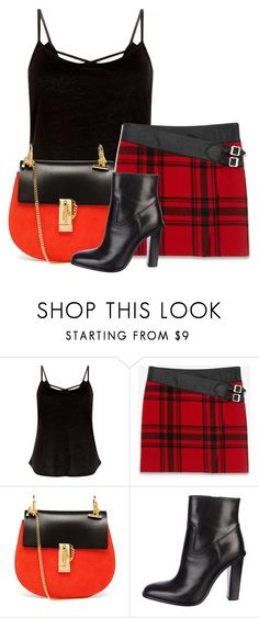 """""""Untitled #7524"""" by nanette-253 ❤ liked on Polyvore featuring Yves Saint Laurent and Chloé"""