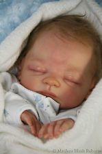 Reborn baby boy doll Teddi by Marita Winters♥ tummy/breastplate