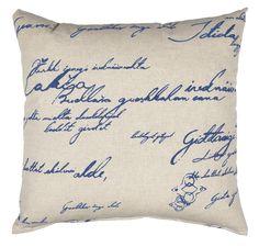 Handwriting Pillow