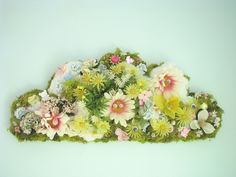 ♧ ♧ ♧ Fashion Forestry - moss cloud sculpture collage (by UTBK)