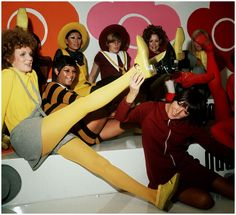 Mary Quant fashion creations - 1960s.