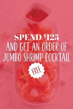 ⚡ Attention all followers! FLASH SALE! ⚡ We are offering an exclusive deal to our social media followers. Use the coupon code FREESHRIMP at checkout to get one FREE order of our Jumbo Shrimp Cocktail when you spend over $125. The sale is only on for 3 days — order now! #LobsterGram #FLASHSALE #Deals Lobster Gram, Giant Lobster, Live Maine Lobster, Fresh Lobster, Lobster Tails, Seafood Dinner, Get One, Shrimp