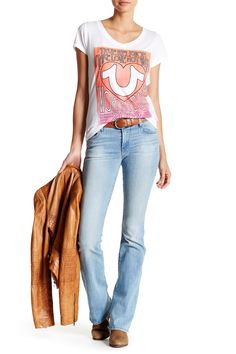 Becca Mid Rise Bootcut Jean