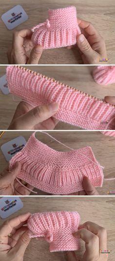 Baby Boy Knitting Patterns Free, Baby Booties Knitting Pattern, Baby Shoes Pattern, Knitted Booties, Crochet For Boys, Crochet Baby Booties, Baby Patterns, Knitted Baby, Knitting Projects