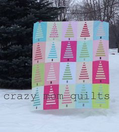 crazy mom quilts: trees!
