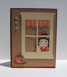 View Through the Window by ladybug91743 - Cards and Paper Crafts at Splitcoaststampers