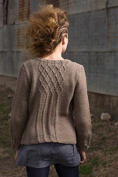 Ravelry: Dauphine Cardigan pattern by Julia Farwell-Clay
