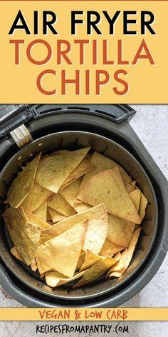 Easy Potluck Recipes, Air Fryer Dinner Recipes, Air Fryer Recipes Easy, Snack Recipes, Snacks, Slow Cooking, Cooking Recipes, Air Fryer Cooking Times, How To Make Tortillas