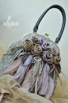 Валяная сумка «About Dried flowers». Handmade. #felting