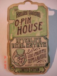 Disney Pin-DLR-Haunted M...