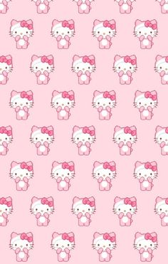 Find images and videos about cute, pink and wallpapers on We Heart It - the app to get lost in what you love. Hello Kitty Iphone Wallpaper, Hello Kitty Backgrounds, Sanrio Wallpaper, Trippy Wallpaper, Retro Wallpaper, Kawaii Wallpaper, Wallpaper Iphone Cute, Aesthetic Iphone Wallpaper, Hello Kitty Pictures