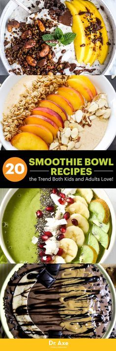 Smoothies are one of my favorite meals. They're portable, tasty and so simple to make! But have you enjoyed a smoothie bowl yet?