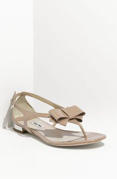 Summer sandals--nude shoes for recruitment is ALWAYS a good idea!