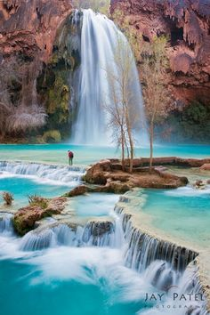 Paradise Crossing, Havasu Falls, AZ (from Jay Patel's Google+ post)
