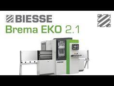 Biesse Brema Eko 2.1 - Panel Processing - YouTube