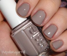 Just bought this one today and I LOVE it! Great cross between taupe and mauve. Essie - Miss Fancy Pants