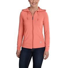 Carhartt Women s Force Zip Front Hoodie -- To view further for this item 1ceea5e96
