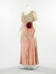 Titanic Fashion. Clothes from 1911-1912 from Costume Institute of the Metropolitan Museum of Art in New York