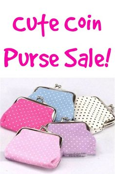 Cute Coin Purse Sale: $1.83 + FREE shipping! {these make such fun little gifts for girls and Operation Christmas Child boxes, too!}
